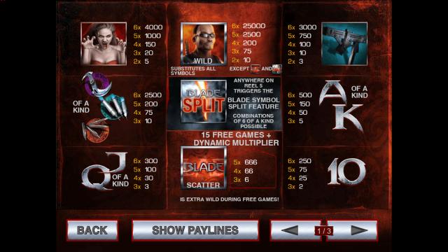 игровой автомат Blade 5