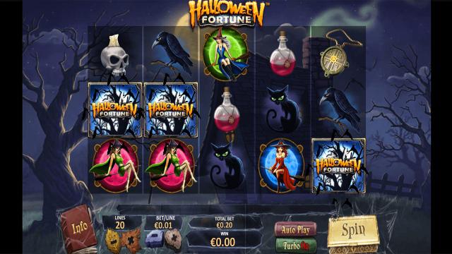 игровой автомат Halloween Fortune 7