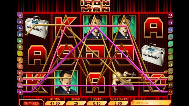 популярный слот Iron Man 1