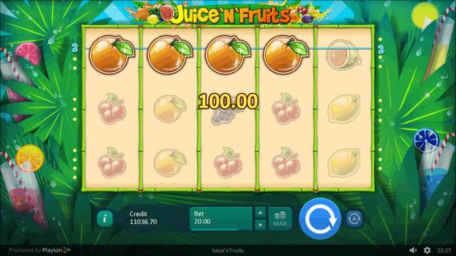 игровой автомат Juice 'N' Fruits 7
