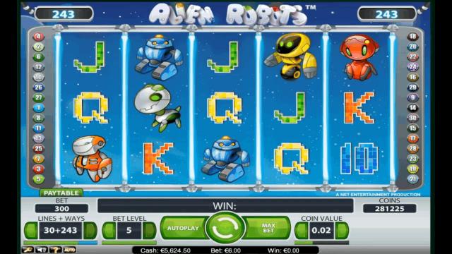 популярный слот Alien Robots 6