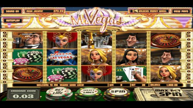 игровой автомат Mr. Vegas 1