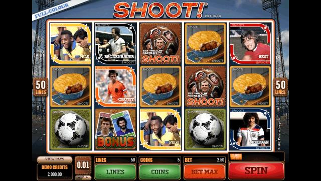 игровой автомат Shoot! 1