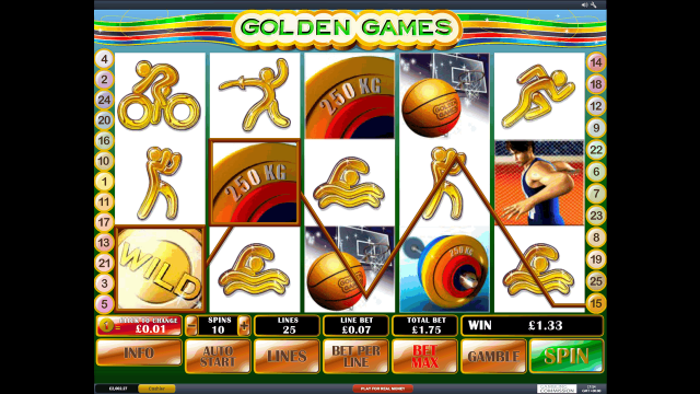 онлайн аппарат Golden Games 10