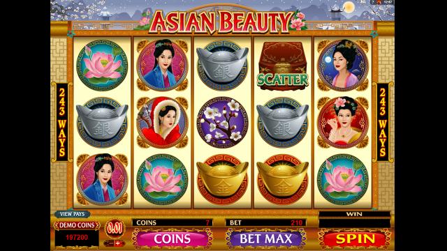 игровой автомат Asian Beauty 3
