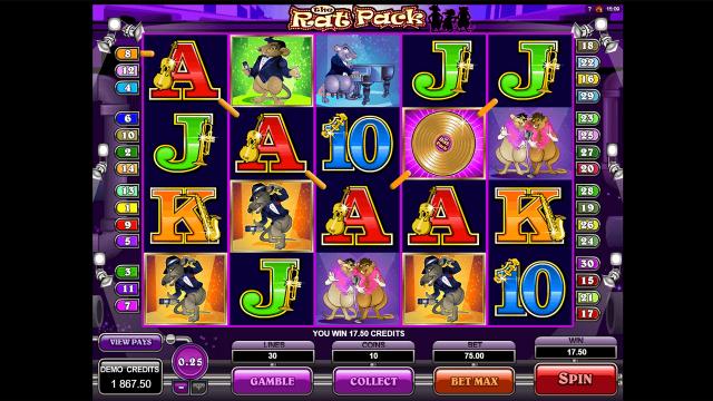 игровой автомат The Rat Pack 6