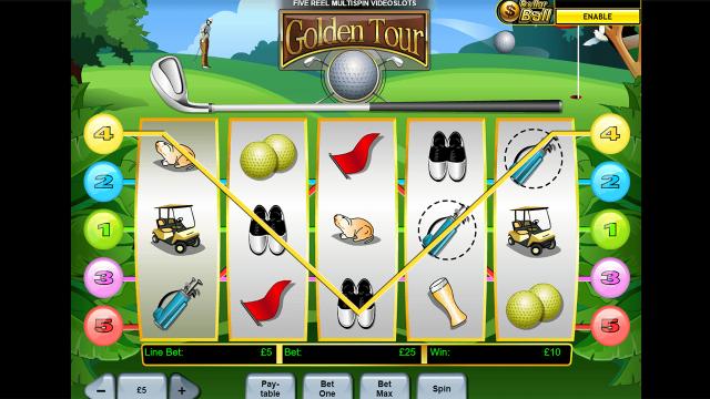 игровой автомат Golden Tour 2