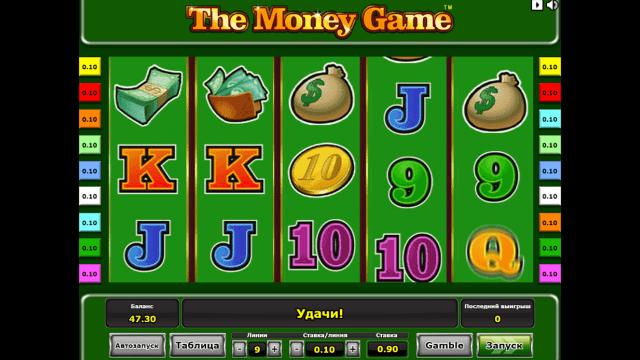популярный слот The Money Game 6