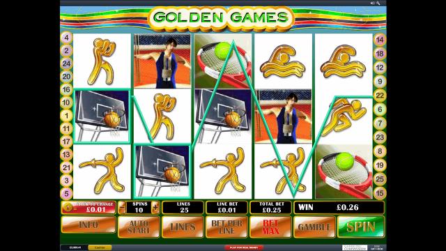 популярный слот Golden Games 3