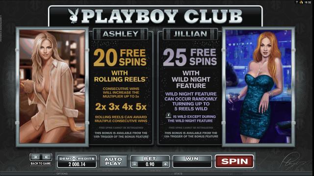 игровой автомат Playboy 6
