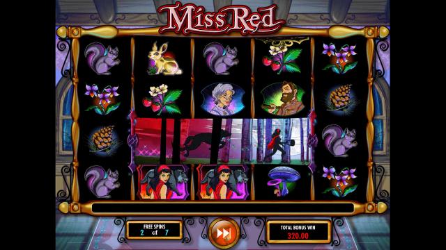 популярный слот Miss Red 7