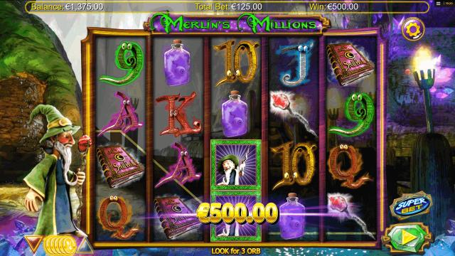 игровой автомат Merlin's Millions 8