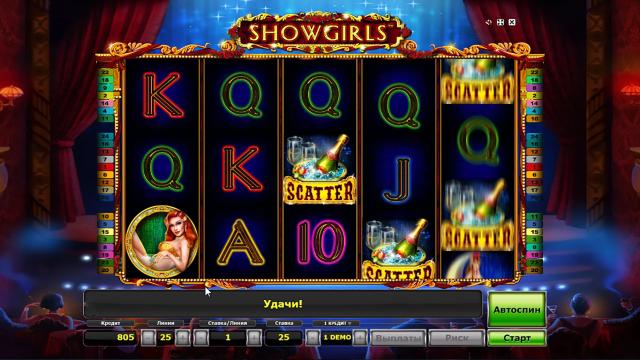 игровой автомат Showgirls 10