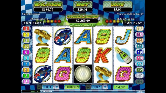 игровой автомат Green Light 6