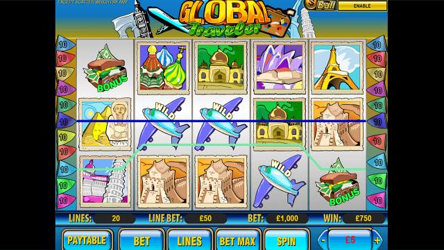 игровой автомат Global Traveler 9