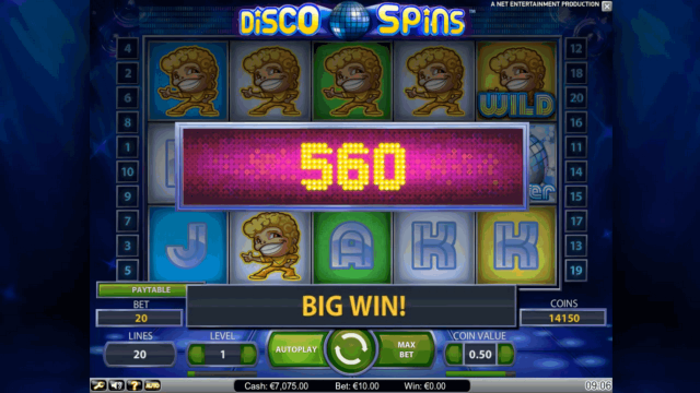 игровой автомат Disco Spins 5