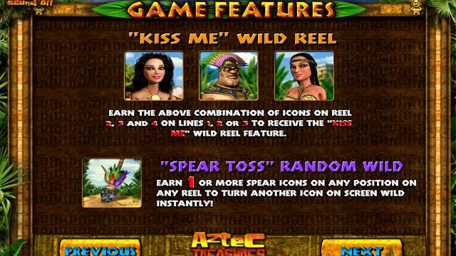 игровой автомат Aztec Treasures 3D 6