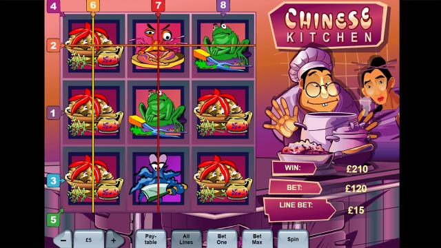 онлайн аппарат Chinese Kitchen 9