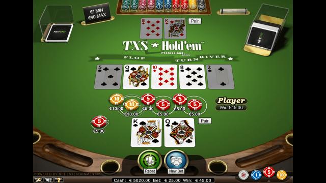 онлайн аппарат TXS Hold'em Pro Series 7