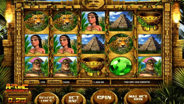 онлайн аппарат Aztec Treasures 3D 9