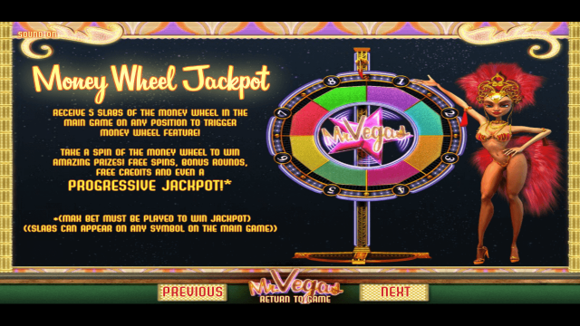 игровой автомат Mr. Vegas 4