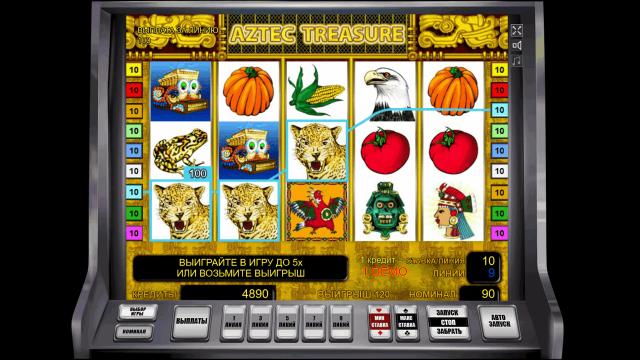 онлайн аппарат Aztec Treasure 7