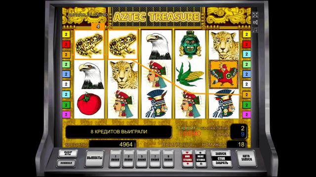 игровой автомат Aztec Treasure 3