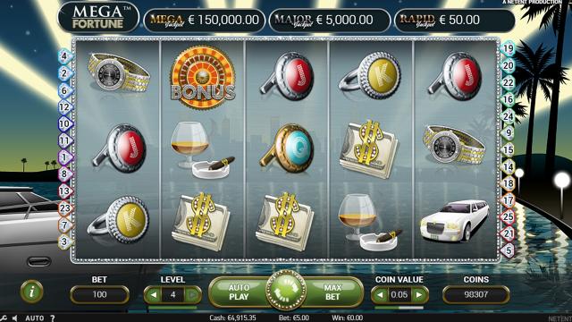 игровой автомат Mega Fortune 4