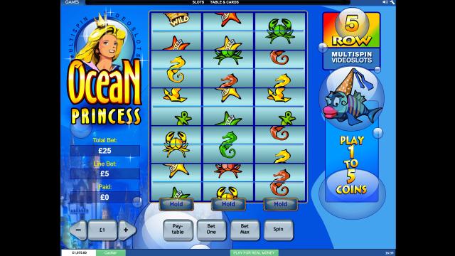 онлайн аппарат Ocean Princess 1