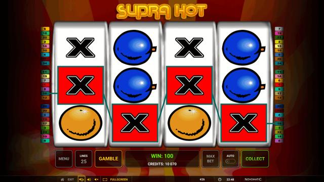 популярный слот Supra Hot 6