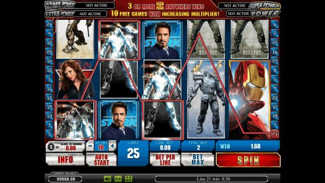 популярный слот Iron Man 2 7
