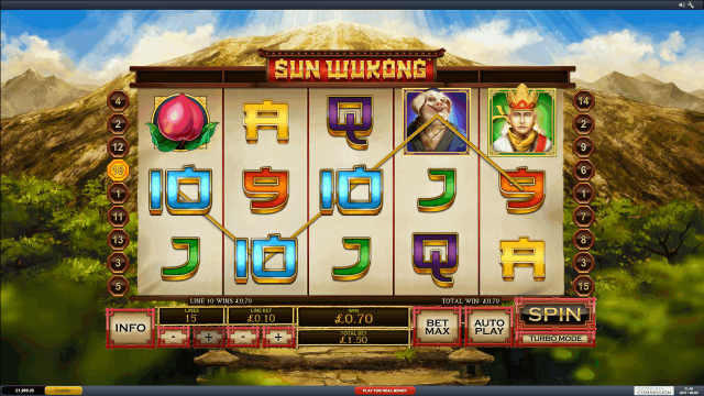 игровой автомат Sun Wukong 1