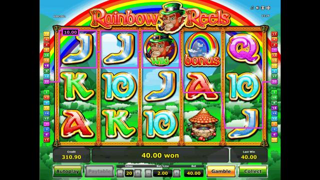 игровой автомат Rainbow Reels 9