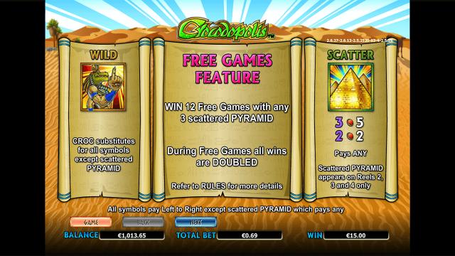 игровой автомат Crocodopolis 4