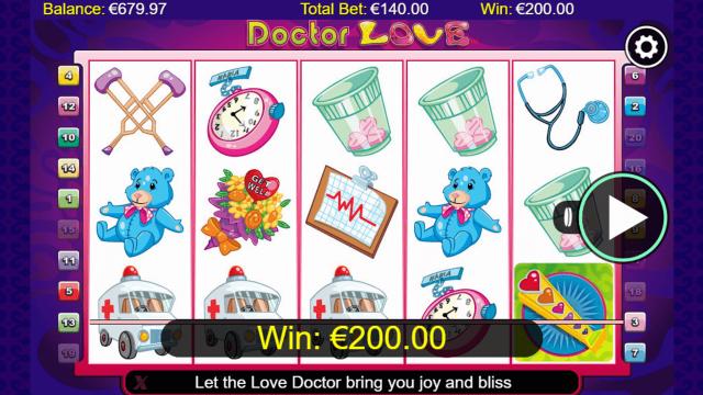 игровой автомат Doctor Love 9