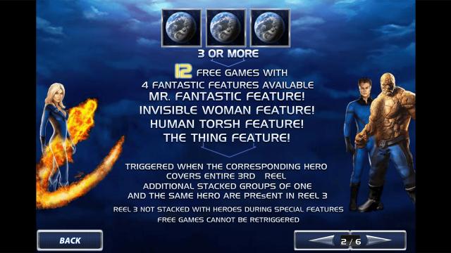 игровой автомат Fantastic Four 3