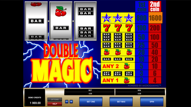 онлайн аппарат Double Magic 10