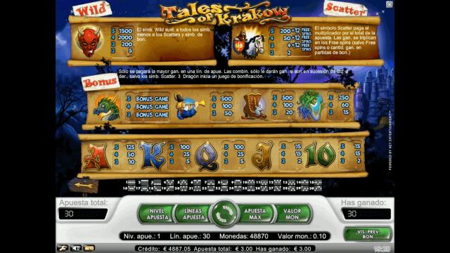 игровой автомат Tales Of Krakow 10