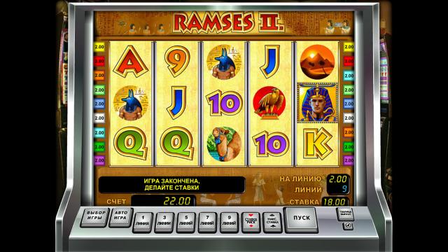 игровой автомат Ramses II 10