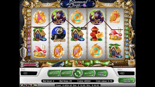 игровой автомат Diamond Dogs 9