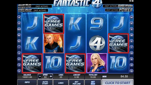 игровой автомат Fantastic Four 15