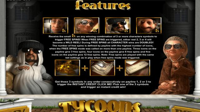 популярный слот Tycoons 6
