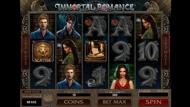 популярный слот Immortal Romance 8