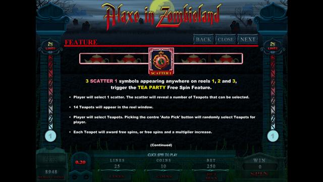 игровой автомат Alaxe In Zombieland 7