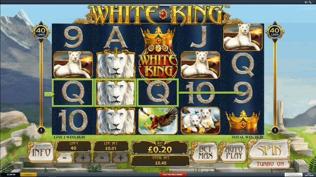 популярный слот White King 4