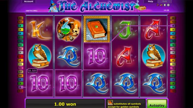 игровой автомат The Alchemist 7