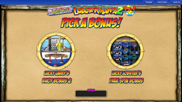 игровой автомат Lucky Larry's Lobstermania 2 15