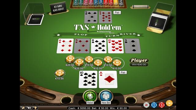 онлайн аппарат TXS Hold'em Pro Series 8