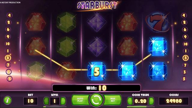 онлайн аппарат Starburst 2