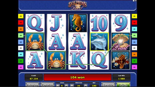 игровой автомат Dolphin's Pearl 5